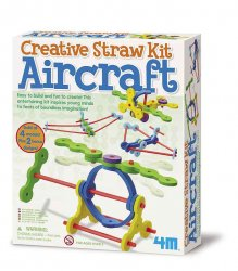 Creative Straw Kit Aircraft