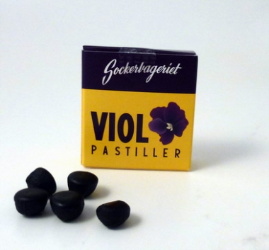 Tablettask: Viol sockerfri Retro ask Nostalgi