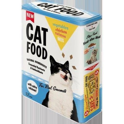 cat food, burk, katt, kattmat.