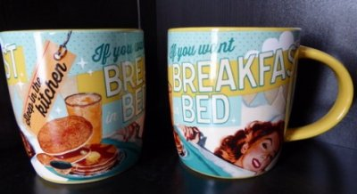 Nostalgi Serie Mugg: If you want Breakfast in bed